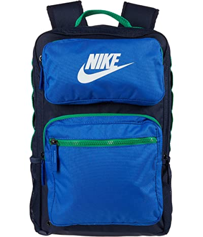 Nike Kids Future Pro Backpack (Little Kids/Big Kids) (Obsidian/Game Royal/White) Backpack Bags