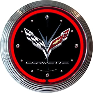 Neonetics Corvette C7 Neon Clock
