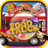 Hidden Objects Food Truck & Junk Foods – Pizza, Candy, Chocolate, Cupcake Dessert Object Time Puzzle FREE Photo Pic Game & Spot the Difference