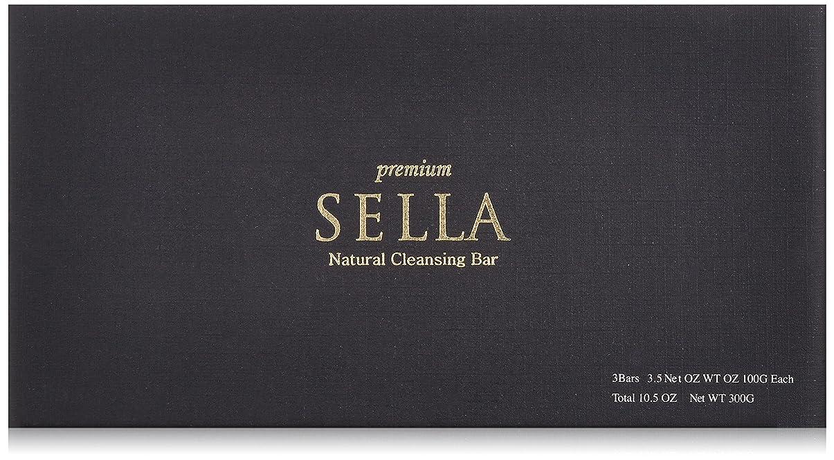 地図渇き壁紙SELLA(セラ) プレミアム nanoクレンジングバー 3個SET