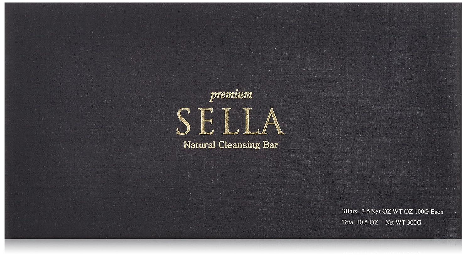 前方へ追加するリストSELLA(セラ) プレミアム nanoクレンジングバー 3個SET
