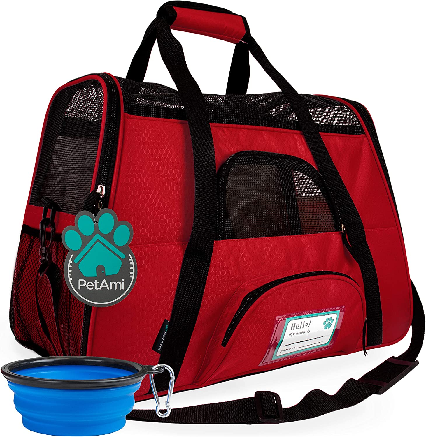 List price Free shipping on posting reviews PetAmi Premium Airline Approved Pet Soft-Sided Travel Carrier