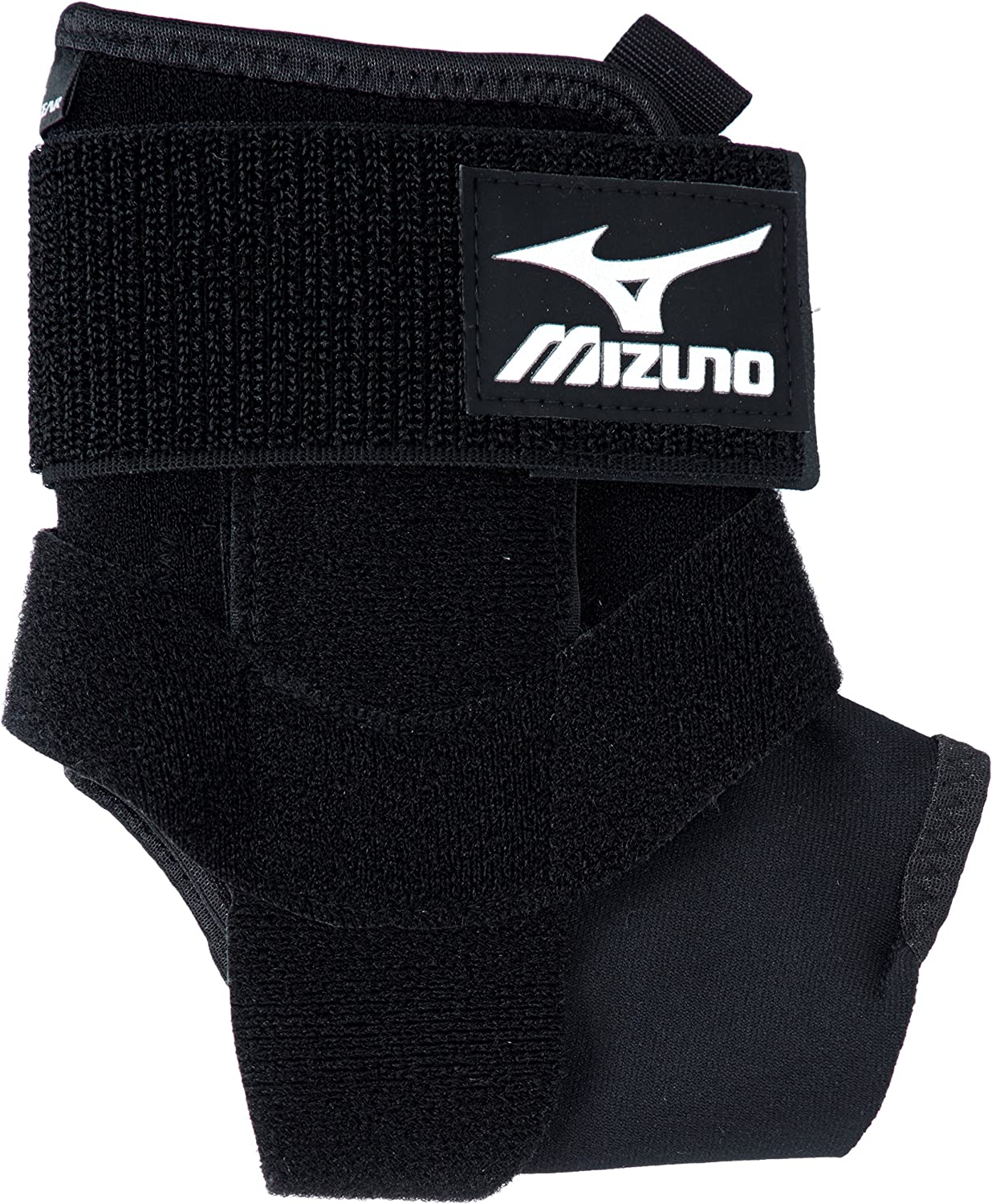 [Mizuno] bio Gear Supporter for Ankle (1 Sheets) Front Open LowCut Soft pad YShaped Belt Unisex K2JJ4A01 03 Black RL