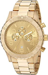 Men's 1270 Specialty Chronograph 18k Gold Ion-Plated Stainless Steel Watch