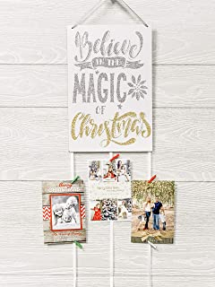 door hanger christmas card holder