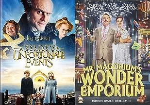 A Wonderful Series Of An Unfortunate Emporium: Lemony Snicket's A Series Of Unfortunate Events & Mr. Magorium's Wonder Emporium (2 Feature Film DVD Bundle)