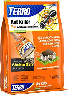 TERRO 3 lb Ant Killer Plus � Also Kills Cockroaches, Fleas, and other listed insects