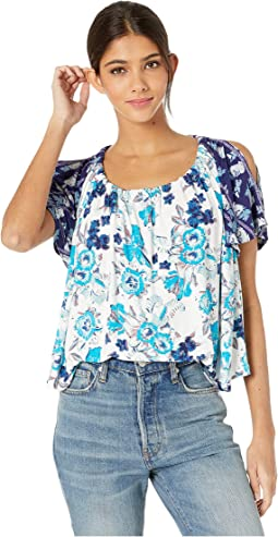 48ef49ee Fila nikki crop cold shoulder top + FREE SHIPPING | Zappos.com