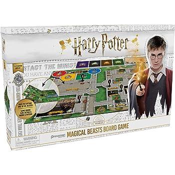 Goliath - HarryPotter MagicalBeasts Game (jeu de plateau) - Jeu d'enfants - à partir de 8 ans- Jeu de société - Jeu de stratégie de Harry Potter