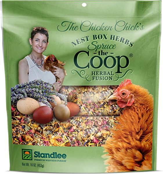 The Chicken Chick Spruce The Coop Herbal Fusion Nest Box Herbs 16 Oz