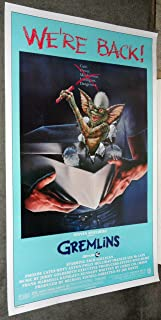 GREMLINS original 1984 27x41 one sheet movie poster PHOEBE CATES/JOE DANTE