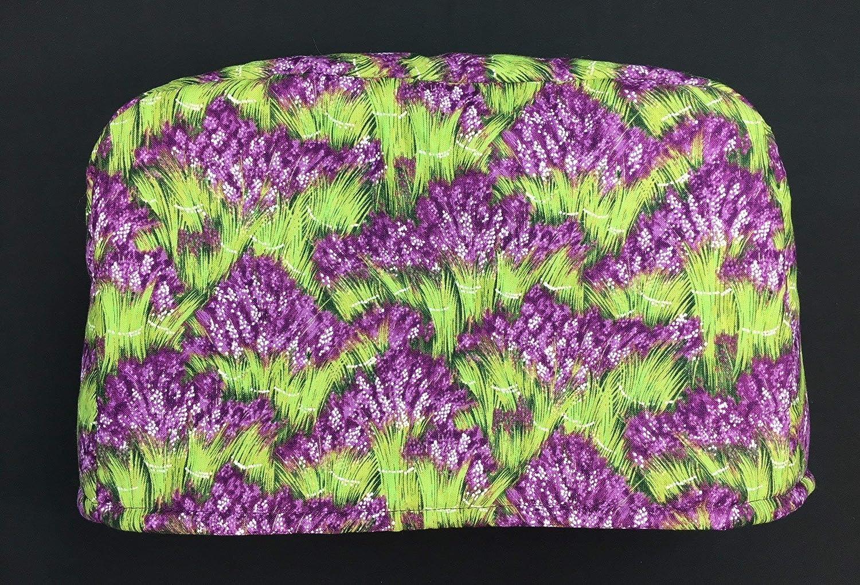 2 Slice Slot Purple Green Ki Lavender Sale Max 76% OFF SALE% OFF Toaster Flowers Reversible