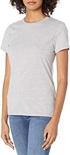 Hanes Women's Nano T-Shirt, Large, Light Steel