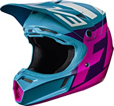 Fox Racing Creo Youth V3 Motocross Motorcycle Helmets - Teal/Medium