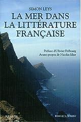La Mer dans la littérature française Broché