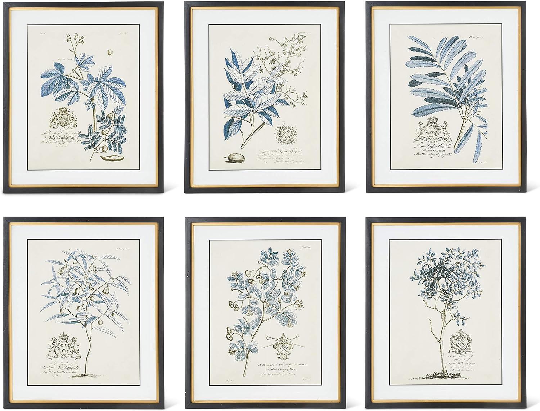 KK Interiors 16257A Assorted Design 23.75 Blue Print Inch specialty shop Quality inspection Arbor