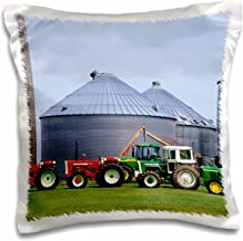 3dRose pc_97158_1 Farm, Vintage Tractor Collection, Wisconsin-US50 DFR0002-David R. Frazier-Pillow Case, 16 by 16