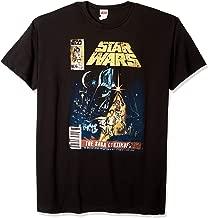 Star Wars Men's Saga Continues Comic Book Cover T-Shirt