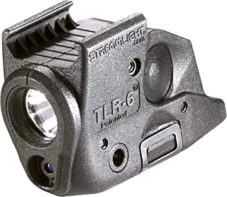 Streamlight 69291 TLR-6 Tactical Pistol Mount Flashlight 100 Lumen with Integrated Red..