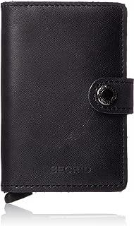 Secrid Miniwallet - Vintage Black Leather