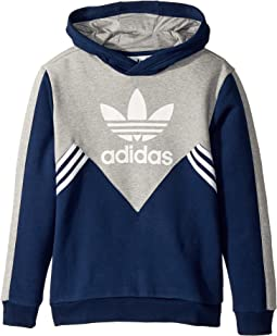 adidas Originals Kids - Zigzag Trefoil Hoodie (Little Kids/Big Kids)