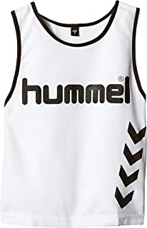 Hummel Fundamental Training - Camiseta de entrenamiento para niños, color blanco, talla S