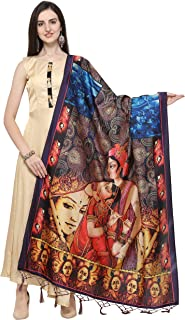 J B Fashion Women's Silk (Dupatta-15_Multicoloured_Free Size)