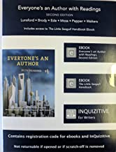 Everyone's an Author with Readings 2e eBook with InQuizitive