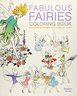 Fabulous Fairies Coloring Book: Enchanting Images of a magical world (Arcturus Coloring Books)