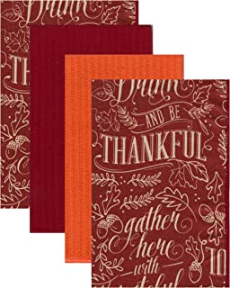 Kane Home Microfiber Cleaning Towels Perfect for Kitchens, Dishes, Car, Dusting, Drying Rags, 16 x 19, Set of 4 - Grateful Hearts