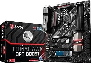 MSI Arsenal Gaming Intel Z270 DDR4 HDMI USB 3 CrossFire ATX Motherboard with Intel Optane Hard Bundle (Z270 Tomahawk OPT Boost)