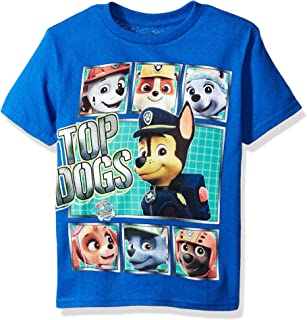Freeze Children's Apparel Paw Patrol Little Boys Characters Short Sleeve T-Shirt