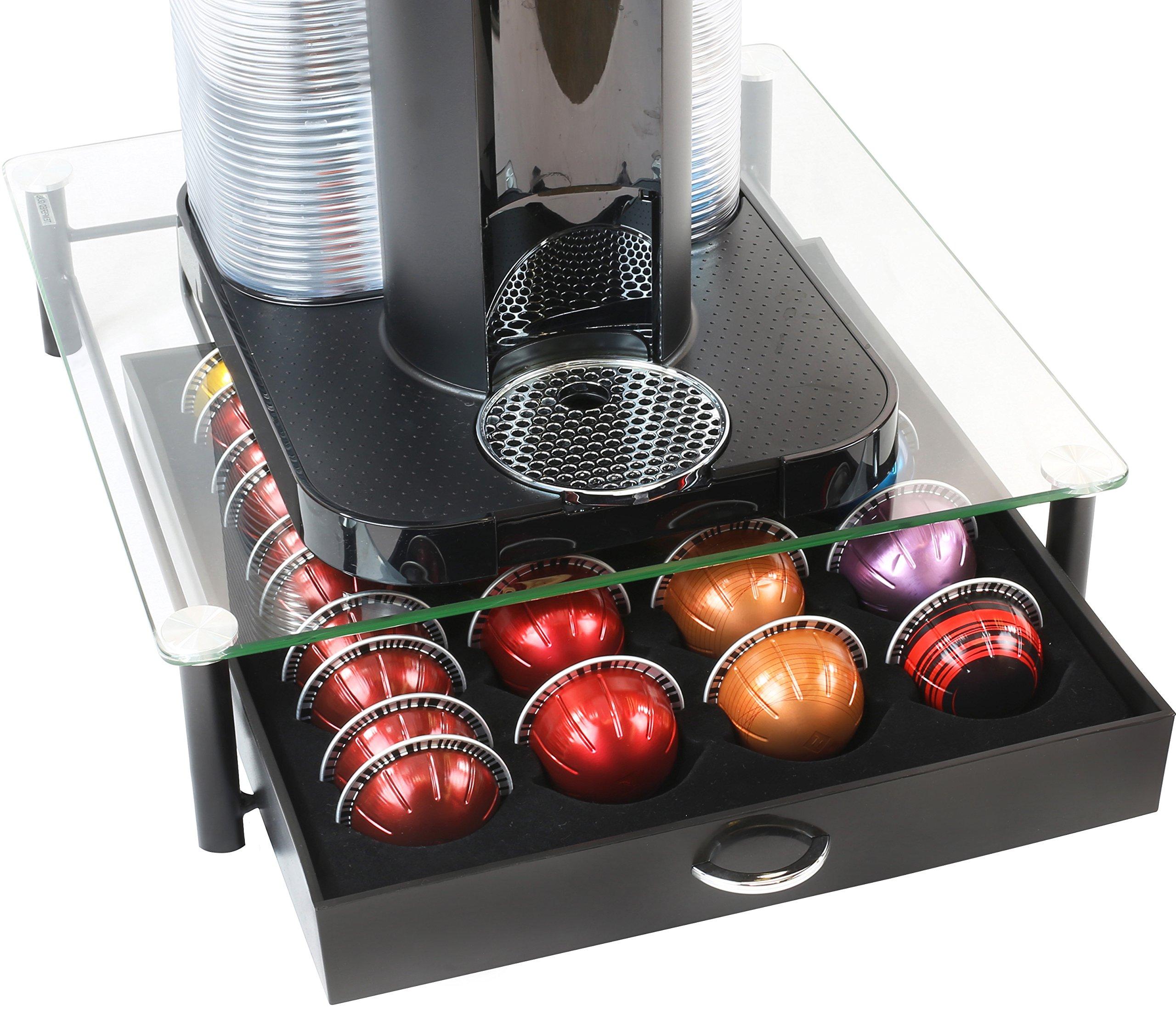 DecoBros Tempered Nespresso Vertuoline Capsules