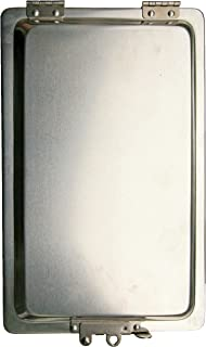 JAMES KING MODEL 200 REPLACEMENT ALUMINUM MANIFEST BOX HOLDER WITH STAINLESS STEEL HINGES AND LATCH