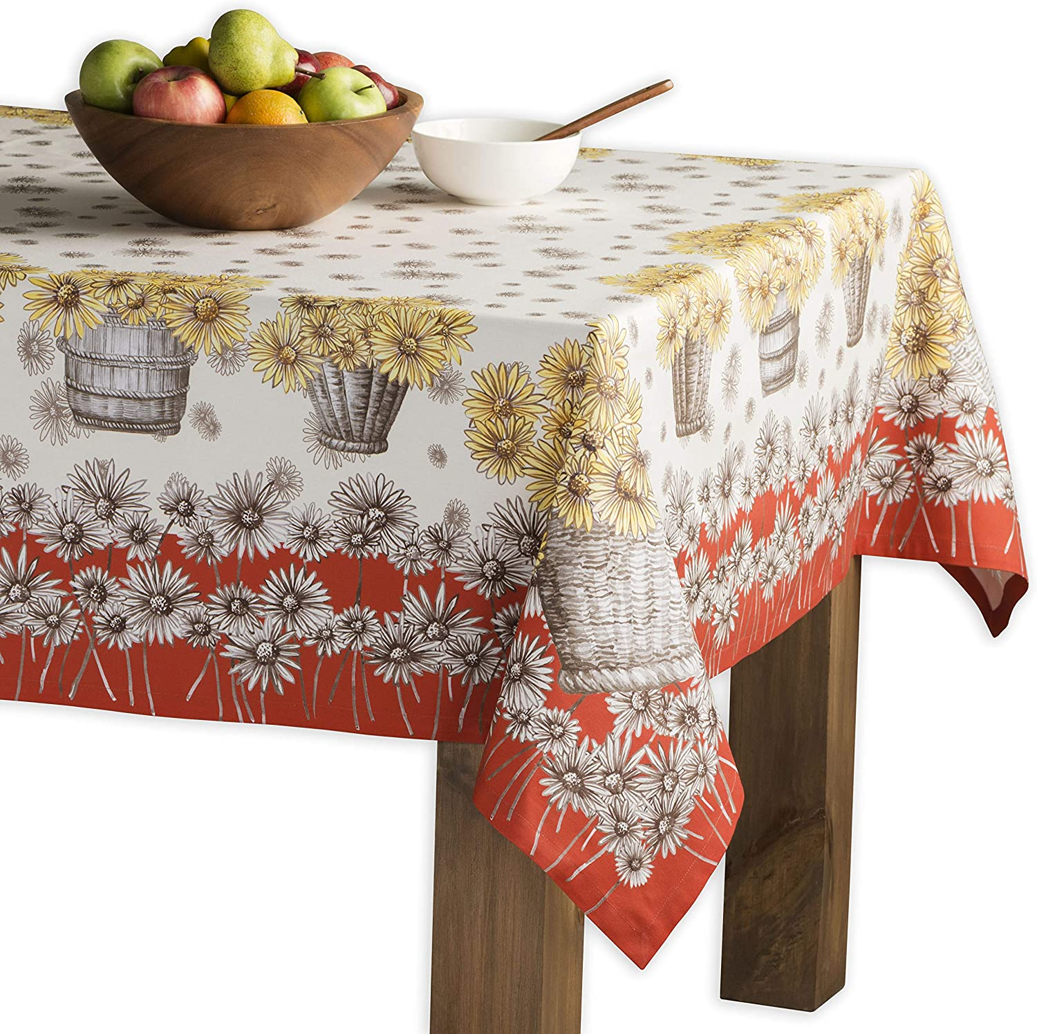 Maison d' Free shipping anywhere in the nation Hermine Bagatelle 100% for Tablecloth Max 75% OFF Cotton D Kitchen
