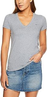 Lacoste Women's Basic V Neck Tee
