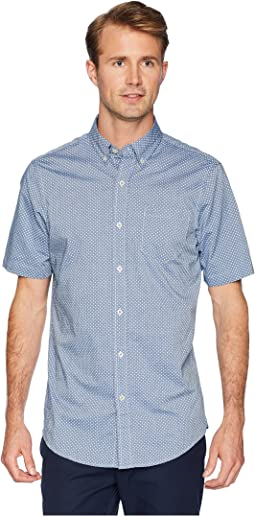 Short Sleeve Printed Woven Shirt