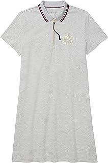 Tommy Hilfiger womens ADP W GLOBAL TIPPED ZIP POLO DRESS Dress