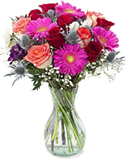 Delivery by Thursday, January 21 Sunset Bouquet by Arabella Bouquets