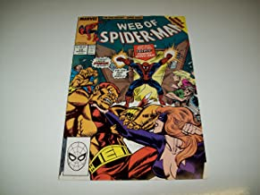 WEB OF SPIDER MAN #59 MARVEL COMIC BOOK 1986