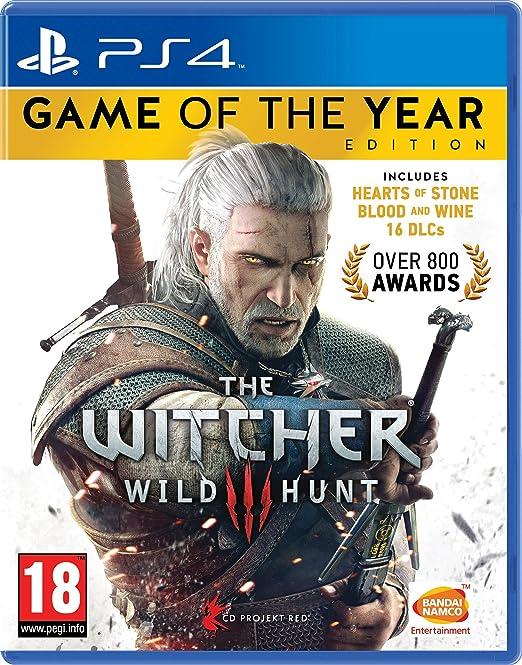 Witcher 3: Wild Hunt - Game of The Year. Versión inglesa