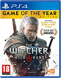 The Witcher 3 Game of the Year Edition (PS4) (輸入版)