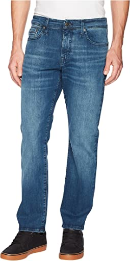 Mavi Jeans - Myles Casual Straight Leg in Mid Tonal Williamsburg