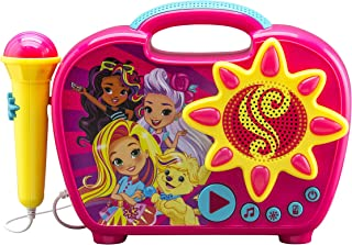 Sunny Day Sing Along Boombox with Real Working Mic Built in Music and Can connect to MP3 Player