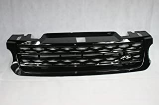 Zunsport Compatible with Range Rover Sport (L494) All Black Gloss Grille (2014-2018)
