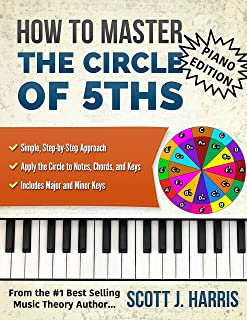 Piano: How to Master the Circle of 5ths: Simple, Step-by-Ste
