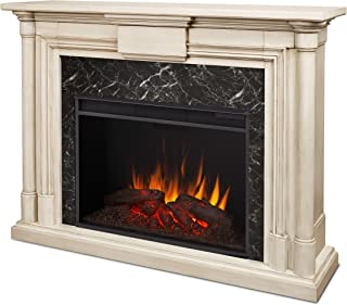 Real Flame 8030-WW Maxwell Grand Electric Fireplace, Large, Whitewash