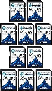 Everything But Stromboli SDXC Speicherkarten, 128 GB, Geschwindigkeitsklasse 10, UHS 1, U3, V30, 128 G, für kompatible Kamera, Laptop, Videokamera