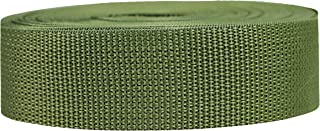 Strapworks Lightweight Polypropylene Webbing - Poly Strapping for Outdoor DIY Gear Repair, Pet Collars, Crafts – 1.5 Inch ...