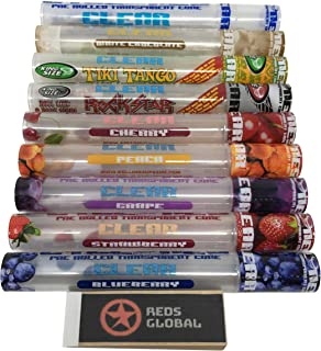 Reds Brand Exclusive Cyclones Pre-Rolled Clear Cones - 9 Different Flavors